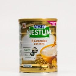 Nestle Nestum Papilla 8 Cereales con Miel, 650gr.