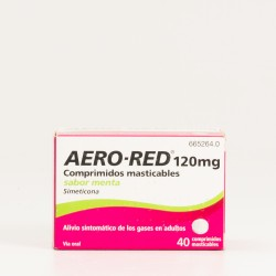 Aero Red 120 mg Menta, 40 Comp.
