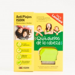 Antipiojos Isdin Pack gel pediculicida con lendrera