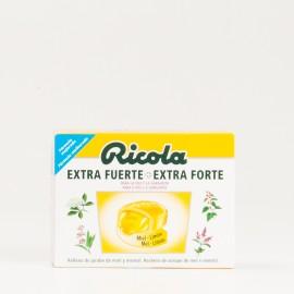Ricola Extra Fuerte MIel-Limón, 51g.