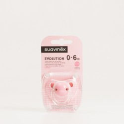 Suavinex Chupete Evolution Latex 0-6m Rosa