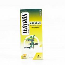 Leotron Magnesio Triple Acción, 30 Comprimidos.