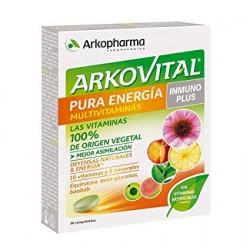 Arkovital Pura Energía Inmunoplus 30 Comprimidos