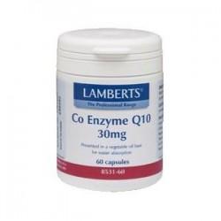 LAMBERTS Co-Enzima Q10 30 mg, 60 cápsulas.