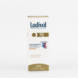 LADIVAL ANTIMANCHAS TOQUE SECO FPS 50+ CON COLOR 50 ML