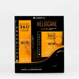 Heliocare Pack Color Bronze Intense Gel + Compact