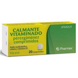 Calmante Vitaminado Perezgimenez, 20 comprimidos.