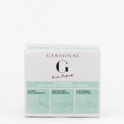 Germinal Acción Profunda Tratamiento: hidratación, nutrición y firmeza, 36 ampollas.