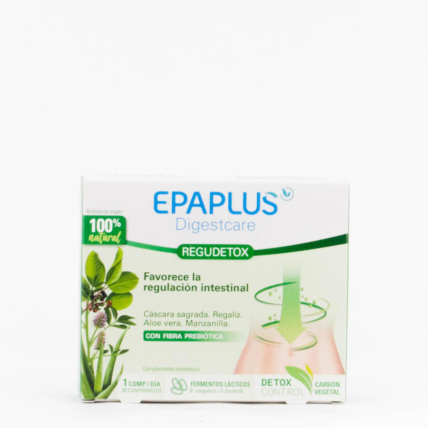 Epaplus Disgetcare Regudetox, 30 comprimidos.