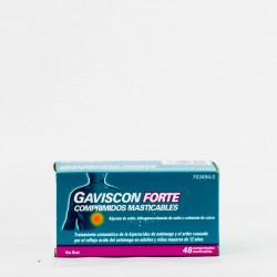 Gaviscon Forte, 48 Comp. Masticables.