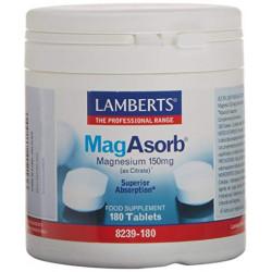 LAMBERTS MagAsorb®, 180 comprimidos