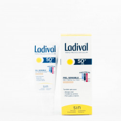 Ladival Piel Sensible SPF50+ Gel-Crema Color, 50ml.