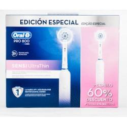 Oferta Duplo Oral B Cepillo Electrico 800 Sensi UltraThin