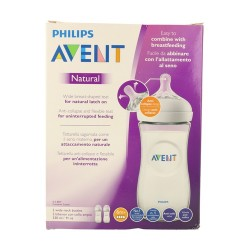 Avent Philips Biberón Natural 330 ml, 2U.