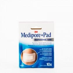 Medipore+Pad Aposito Esteril 5x7,2 cm, 10 Uds.