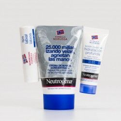 Neutrogena Crema de manos concentrada Pack labial, 50ml