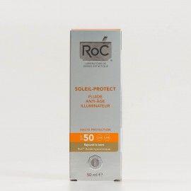 Roc Soleil-Protect Fluido Iluminador Antiedad SPF50+, 50ml