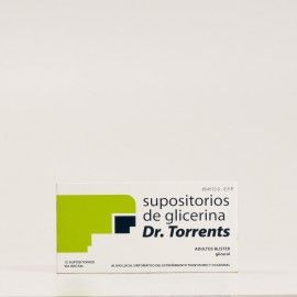 Dr.Torrents supositorios de glicerina blister