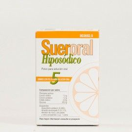 Sueroral Hiposódico 5 sobres para solución oral