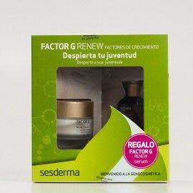 Sesderma Promo Factor G Renew Crema Regeneradora + Factor G Renew Serum de REGALO.
