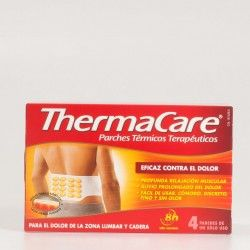 Thermacare Lumbar y Cadera, 4 parches.