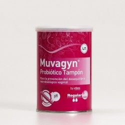 Muvagyn Tampón Probiótico Regular, 9Unid.