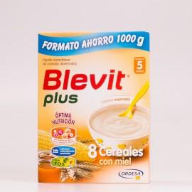 Blevit Plus 8 Cereales Con Miel 1000 g.