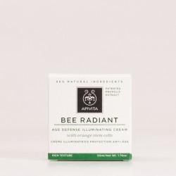 Apivita Bee Radiant Crema iluminadora Enriquecida 50ml