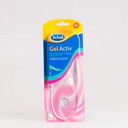 Plantillas Dr Scholl Gel Activ. Tacones uso diario. 1 par