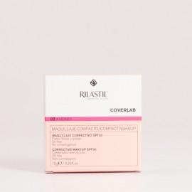 Rilastil Coverlab Maquillaje Compacto P/Grasa Honey, 10gr.