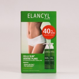 Elancyl Cellu Slim Vientre Plano DUO, 2x150ml.