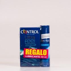 Preservativo Control Ultra Feel + Lubricante.