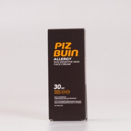 Piz Buin SPF30 Allergy Crema Facial, 50ml.