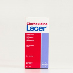 Lacer Colutorio Clorhexidina Spray, 40ml.