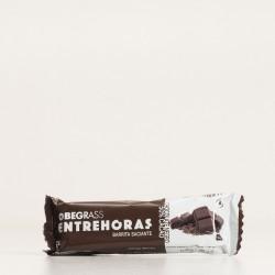 Obegrass Entrehoras Barrita Saciante Chocolate Negro.
