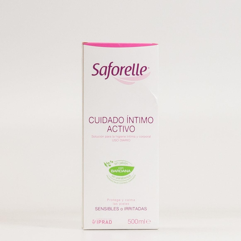 Saforelle Cuidado Íntimo Activo, 500ml.