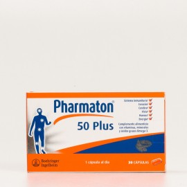 PHARMATON 50PLUS 30 CAPS