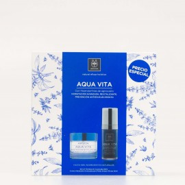 APIVITA AQUAVITA PACK CREMA+SERUM MIXTAS