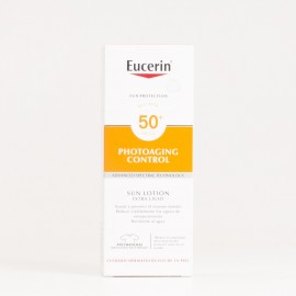 Eucerin Sun Loción Extra Light SPF50, 150ml.