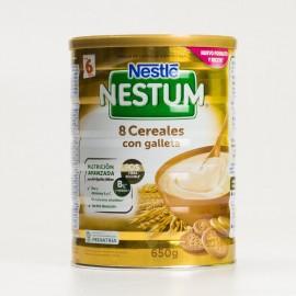 Nestlé Nestum Papilla 8 Cereales con Galletas, 600g